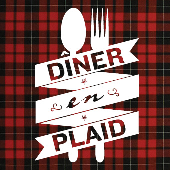 Diner en Plaid